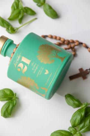 basilikum olivenolje