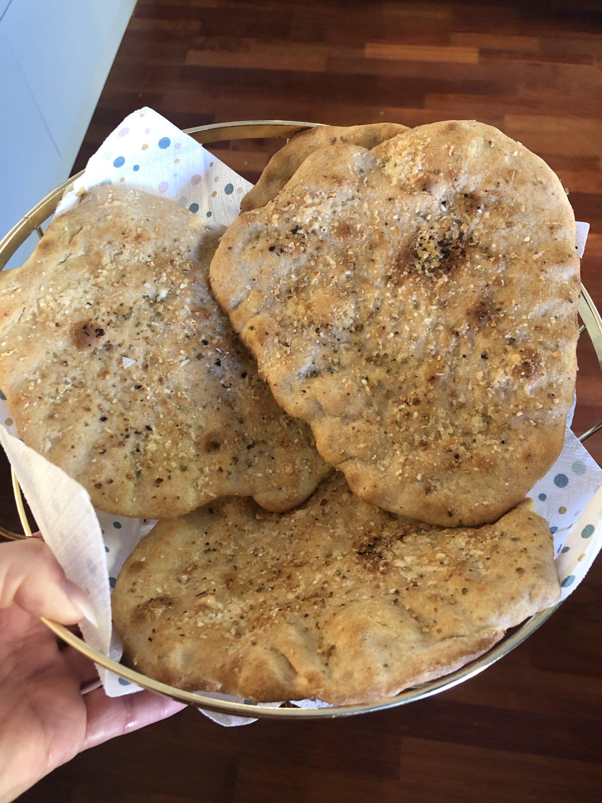 flatbreads olivenolje