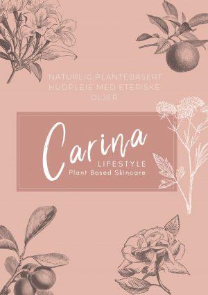 plantebasert hudpleieprodukter carina lifestyle