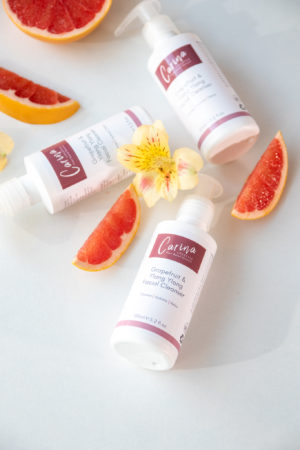 grapefruit and ylang ylaf cleanser rensekrem ansikt